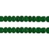 Pony Bead 6/0 Transparent Dark Green